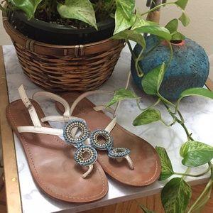 Matisse Beaded Sandal